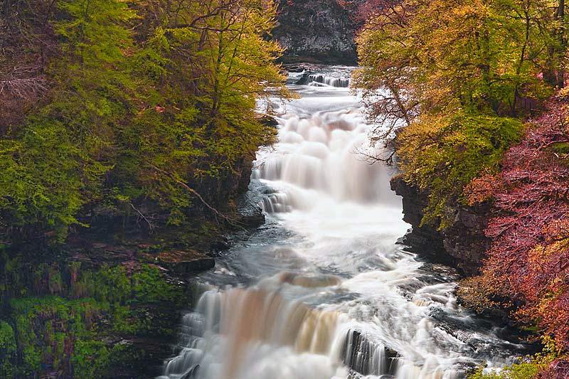 Lanark Loch Falls Of Clyde And New Lanark Wecwc